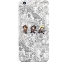 Attack On Titan - Eren, Mikasa, Armin iPhone Case/Skin