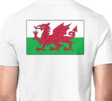 WALES, WELSH FLAG, FLAG OF WALES, RED DRAGON, Welsh Unisex T-Shirt