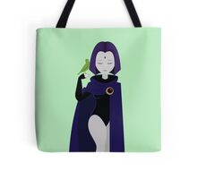 Raven and Beast Boy  Tote Bag
