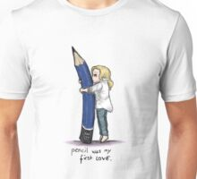Pencil Was My First Love Unisex T-Shirt