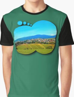 Unsettled geography Graphic T-Shirt