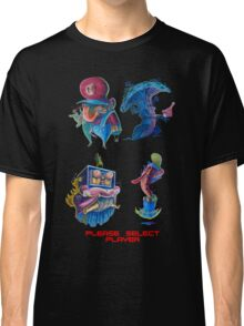 "Super Mario Bros 2 Collection ""Please Select Player"" Classic T-Shirt"