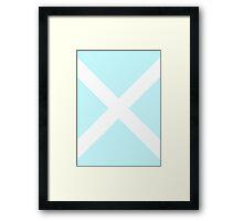 Bobby's X Framed Print