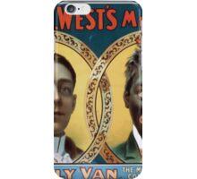 Performing Arts Posters Wm H Wests Big Minstrel Jubilee 1788 iPhone Case/Skin