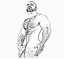 gay naked man drawing Unisex T-Shirt