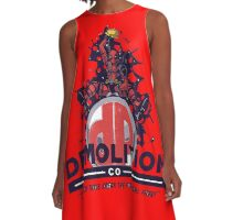 Deadpool A-Line Dress