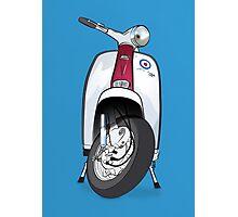 Mod Lambretta Photographic Print