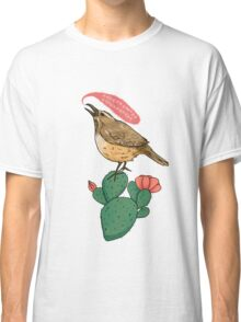 Screaming Cactus Wren Classic T-Shirt