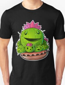 Cactus Family Outline Unisex T-Shirt