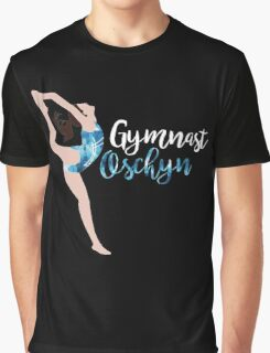 Personalised Gymnastics Print - Oschyn  Graphic T-Shirt