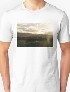 Moisture Laden Air - Hawaiian Farm After a Rainstorm Unisex T-Shirt