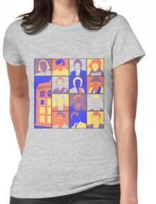 Doctors-Pop Womens Fitted T-Shirt