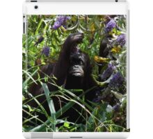 Hidden among the Flowers iPad Case/Skin
