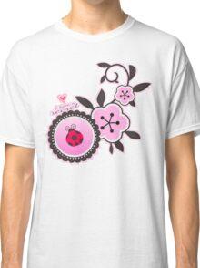 Miraculous Ladybug / Marinette Dupain-Cheng - Pink polka dot flower design Classic T-Shirt