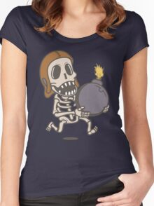 Clash of Clans Wall Breaker Women's Fitted Scoop T-Shirt