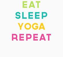 Eat Sleep Yoga Repeat Quote Women's Tank Top