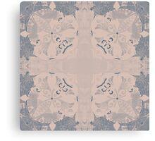 Iced Tile Design Canvas Print
