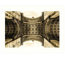 Arc De Triomphe 8 Art Print