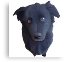 Portrait of my Dog (Original) Canvas Print