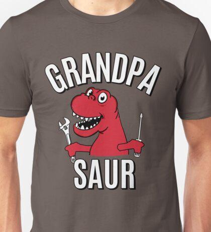 GRANDPA SAUR SMILE GRANDPARENT Unisex T-Shirt