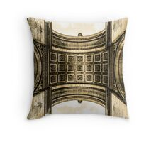 Arc De Triomphe 8 Throw Pillow