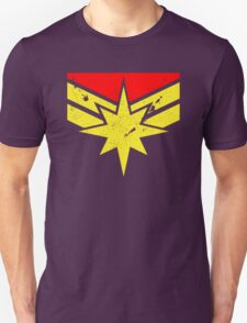Distressed Super Heroine T-Shirt