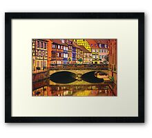 Life Inside a Rainbow Framed Print