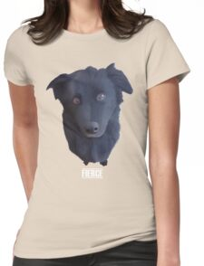 Portrait of my Dog (Fierce) Womens Fitted T-Shirt