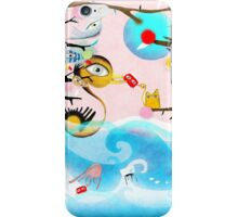 Nothing will drag you down - Duck Crab Rupydetequila Friends iPhone Case/Skin