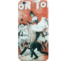 Performing Arts Posters Bon Ton Burlesquers 365 days ahead of them all 0280 iPhone Case/Skin