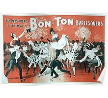 Performing Arts Posters Bon Ton Burlesquers 365 days ahead of them all 0280 Poster