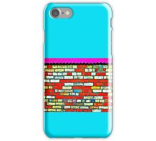 Just Another Brick in the Wall? iPhone Case/Skin