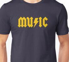MUSIC (yellow) Unisex T-Shirt