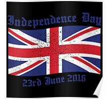 UK Independence Day 23 June 2016 Brexit New Poster