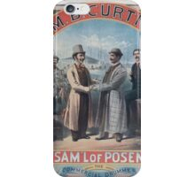 Performing Arts Posters Saml of Posen the commercial drummer 0601 iPhone Case/Skin