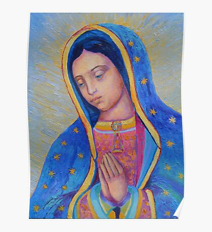 Our Lady of Guadalupe for sale, Vergin de Guadalupe, Virgin Mary Madonna Poster