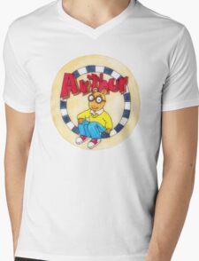 Hey Arthur! Mens V-Neck T-Shirt