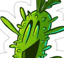 strange cactus Sticker