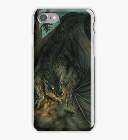 Hungarian horntail - No text version iPhone Case/Skin
