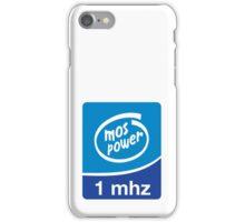 MOS CPU INSIDE 1mhz  iPhone Case/Skin