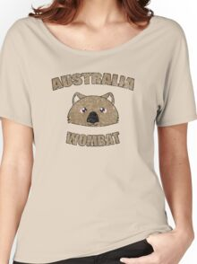 Wombat vintage design - Australian animal  Women's Relaxed Fit T-Shirt