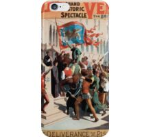 Performing Arts Posters Imre Kiralfys grand historic spectacle Venice the bride of the sea at Olympia 1531 iPhone Case/Skin