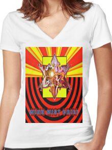 ***Rising Stars*** Women's Fitted V-Neck T-Shirt