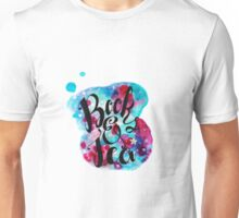Books and Tea - Watercolor Unisex T-Shirt