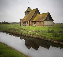 Romney Marsh Church by Dave Hare