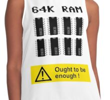 64K RAM ARE ENOUGH Contrast Tank