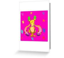 Bunny Bright Greeting Card