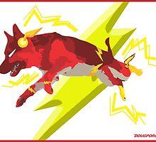 Flash - German Shepherd Dog by DougPop