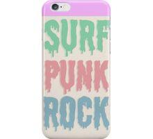 Surf Punk Rock iPhone Case/Skin