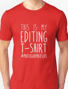 This Is My Editing T-Shirt Unisex T-Shirt